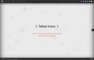 Fabian Irsara Interactive Developer
