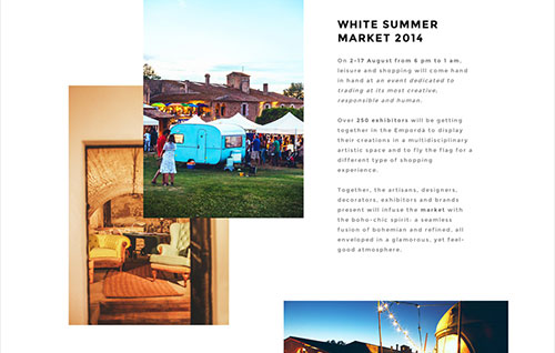White Sumer Market 2014