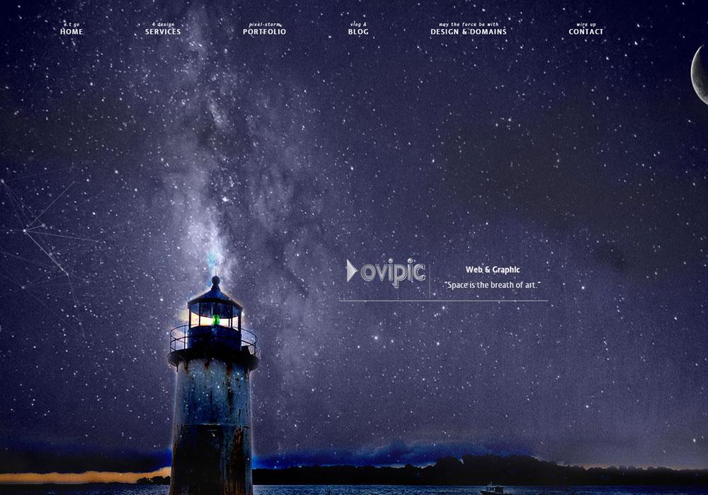 Ovipic- Web Design and Graphic