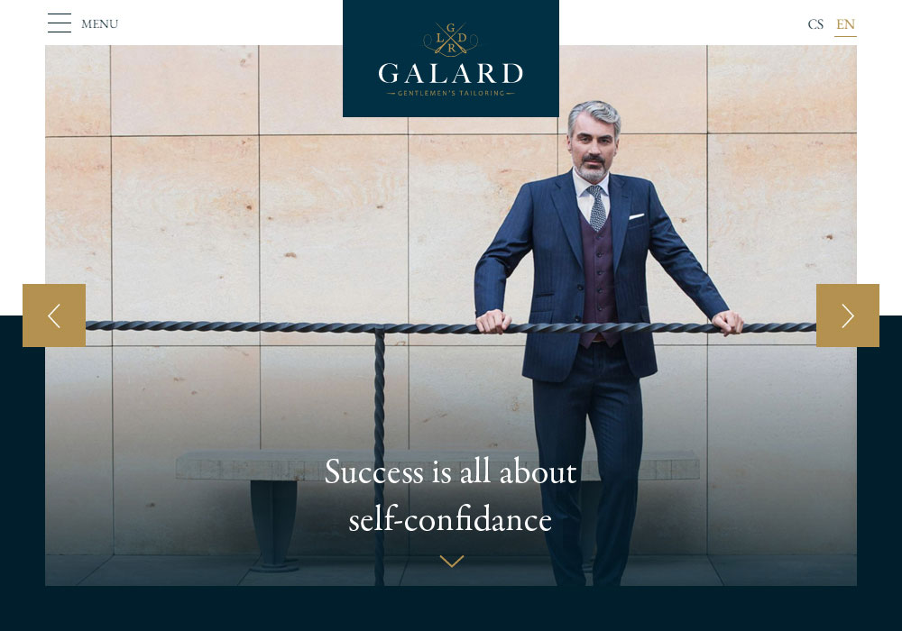 GALARD - luxury tailors