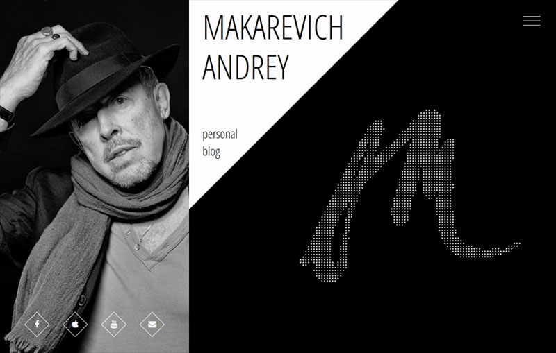 Andrey Makarevich personal website