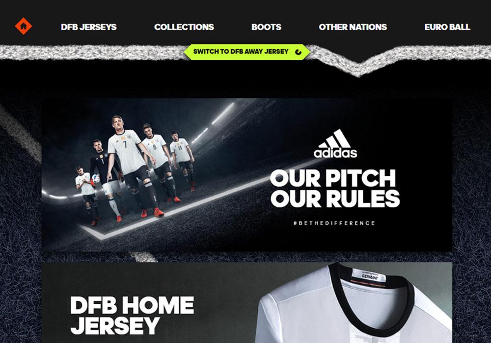adidas / 11TS / WebGL Special