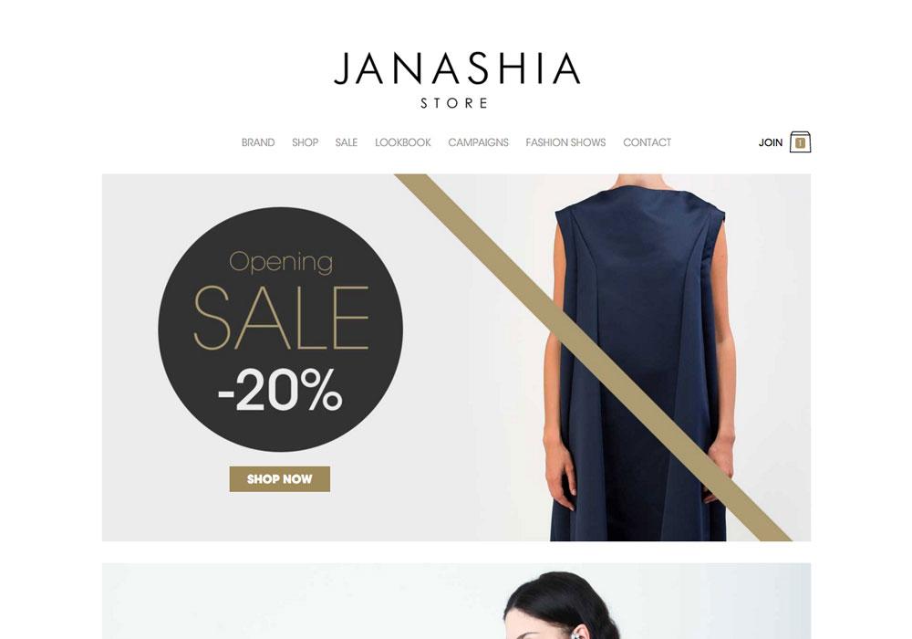 Gvantsa Janashia - Online Shop
