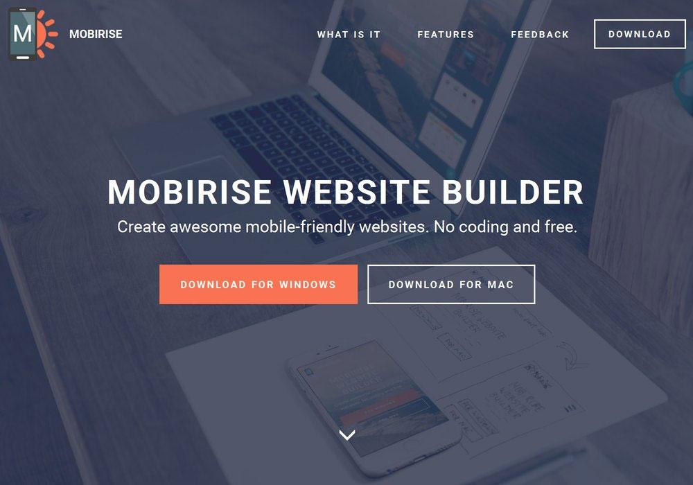 Responsive Website Builder