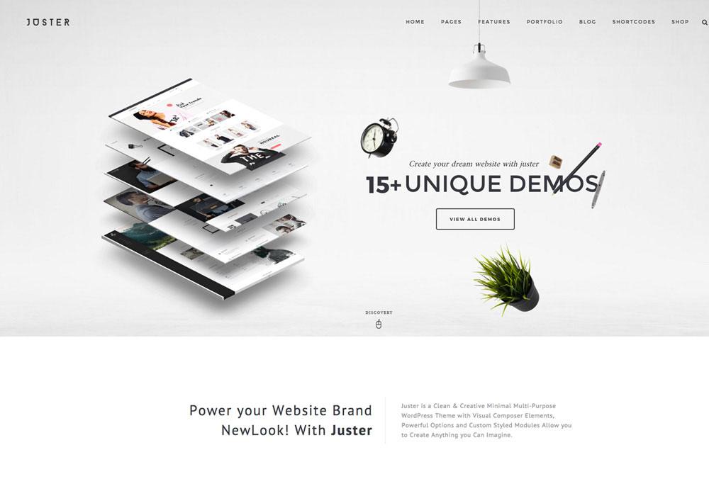 Juster Multipurpose WordPress Theme