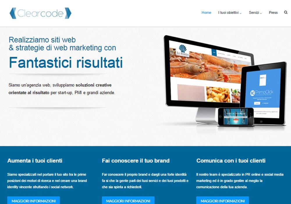 Clearcode Agenzia web