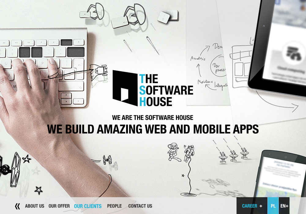 The Software House company website