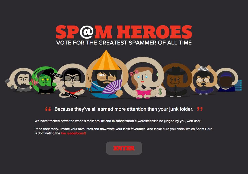 Spam Heroes