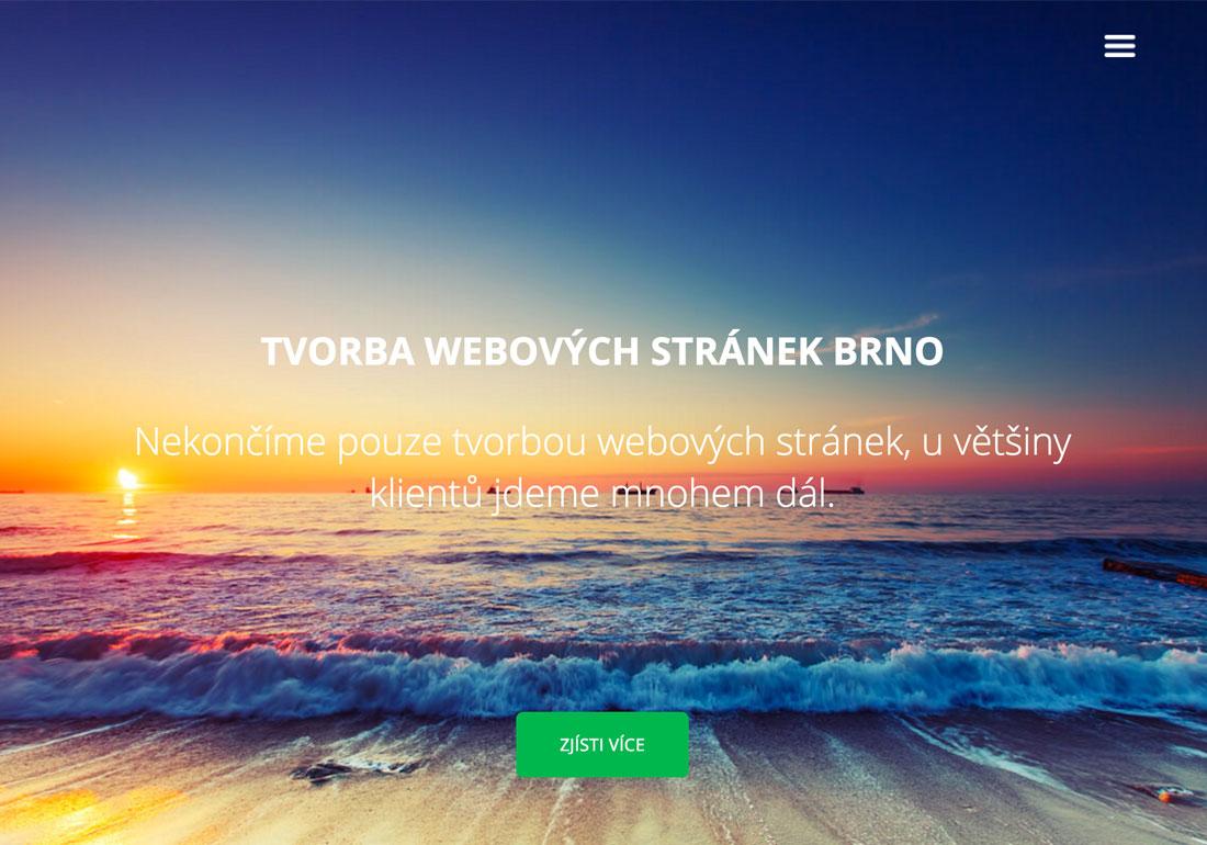 Tvorba stránek Brno