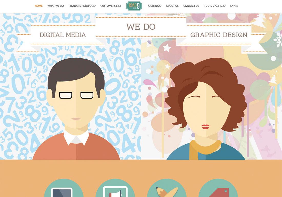 Road9 Media - Web design Egypt