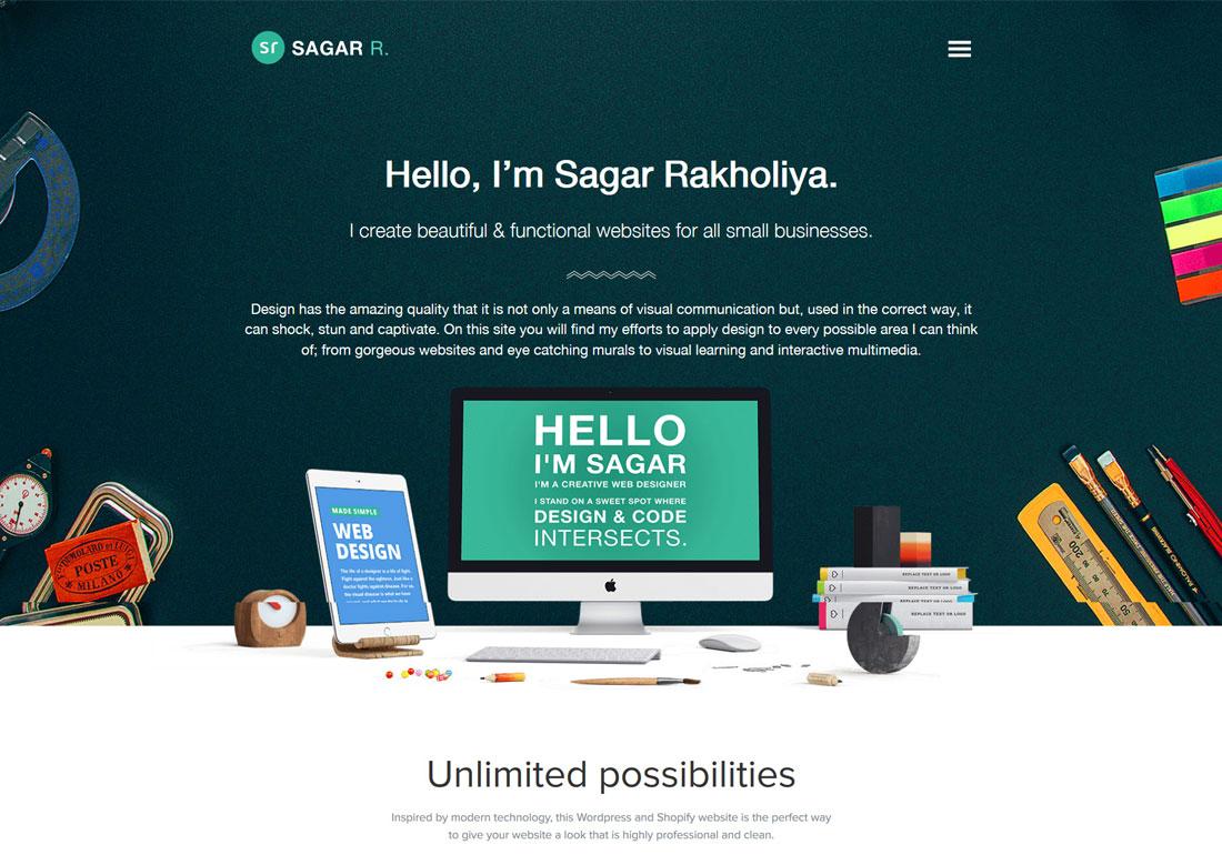 Sagar R - Personal Portfolio