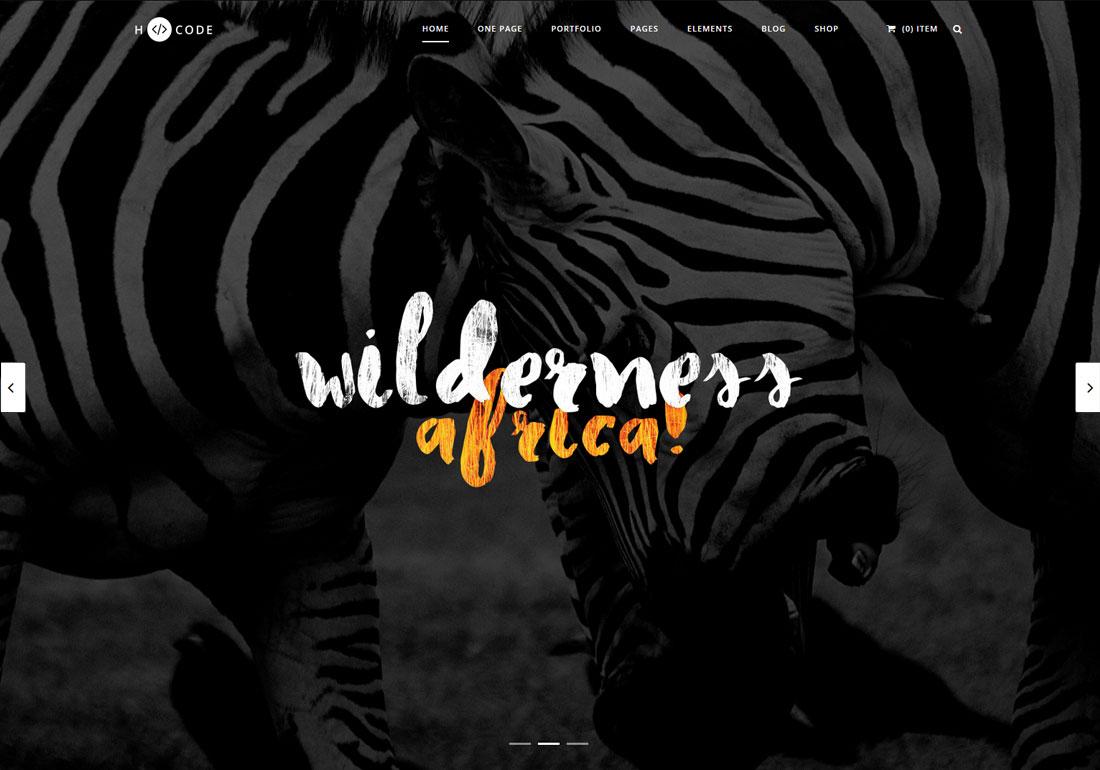 H-Code Multipurpose WordPress Theme