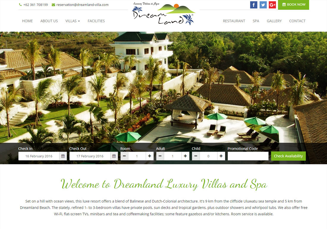 Dreamland Luxury Villas and Spa