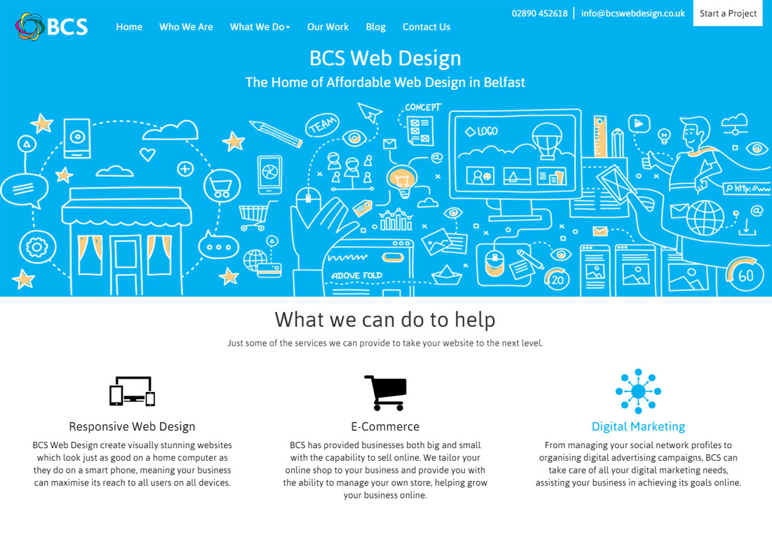 BCS Web Design | Agency in Belfast