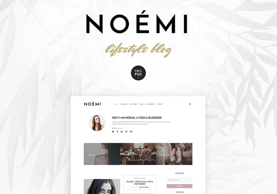 Noemi - WordPress Blog Theme