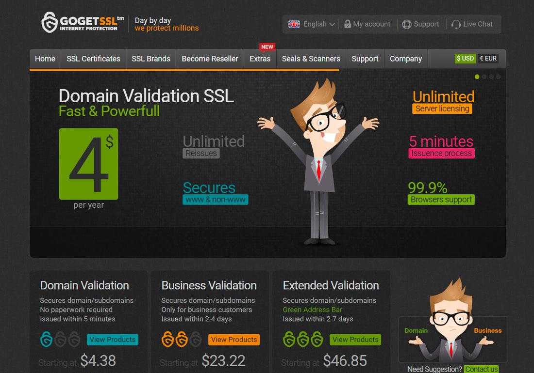 GOGETSSL | SSL Certificates