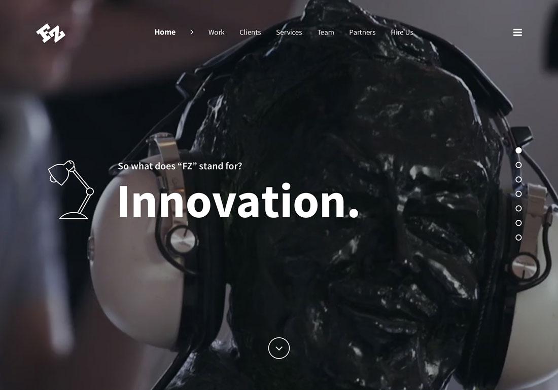FZ Creative Website Revamp