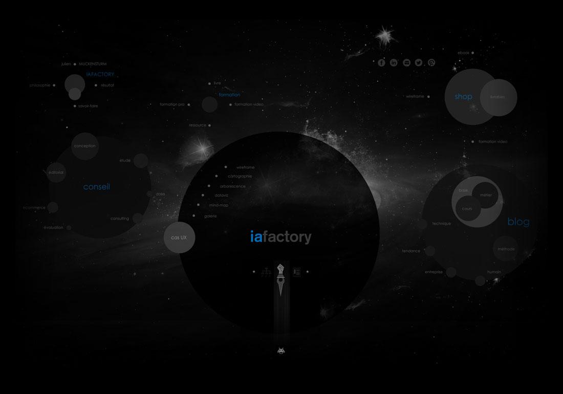 iafactory, IA & UX design