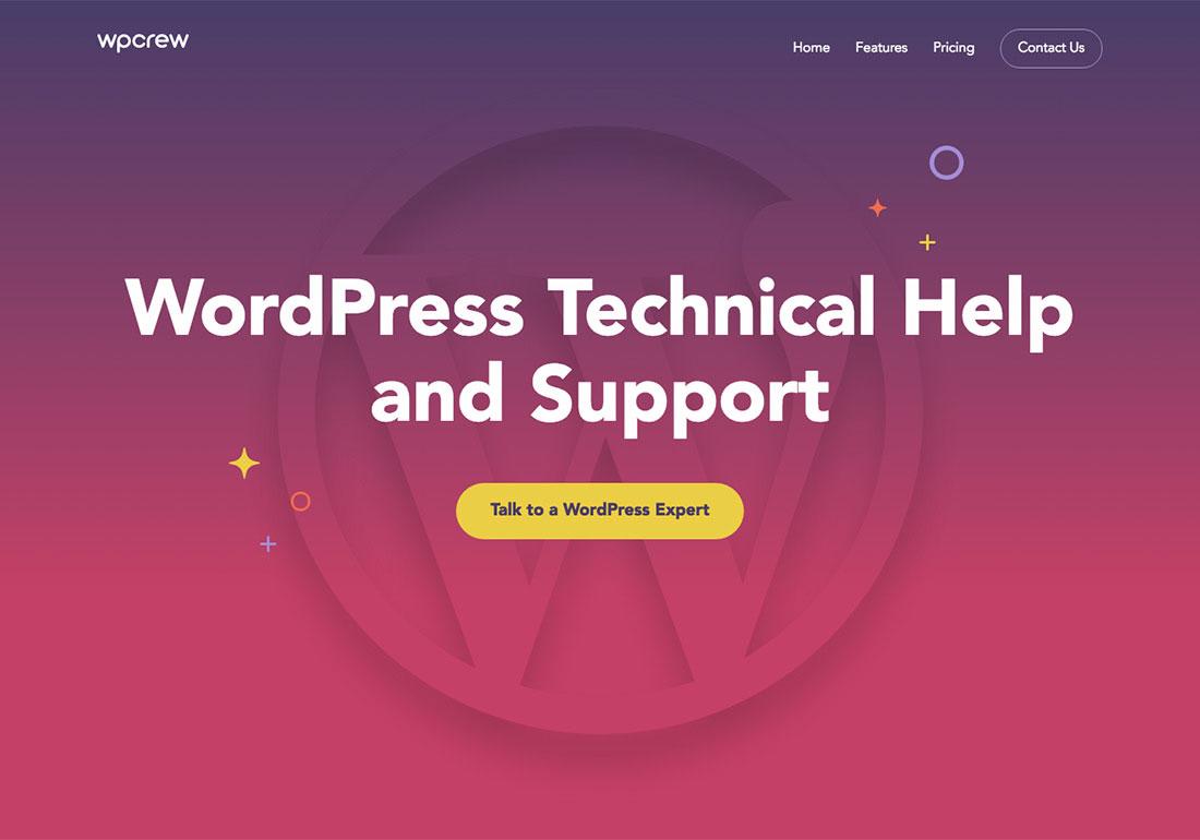 WP Crew - Wordpress Service
