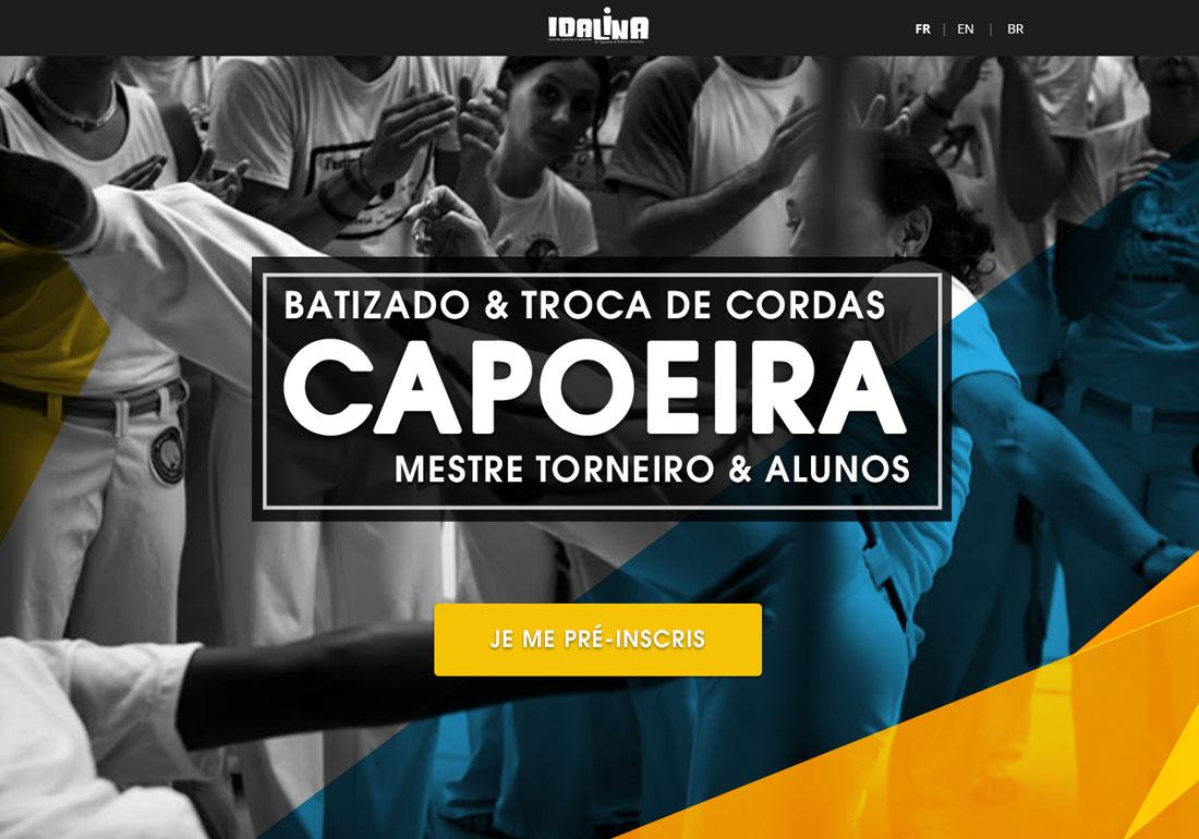 Capoeira Senzala OnePage