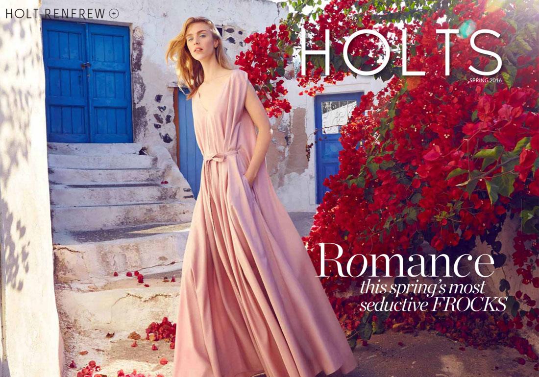 Holt Renfrew Spring 2016 Magazine