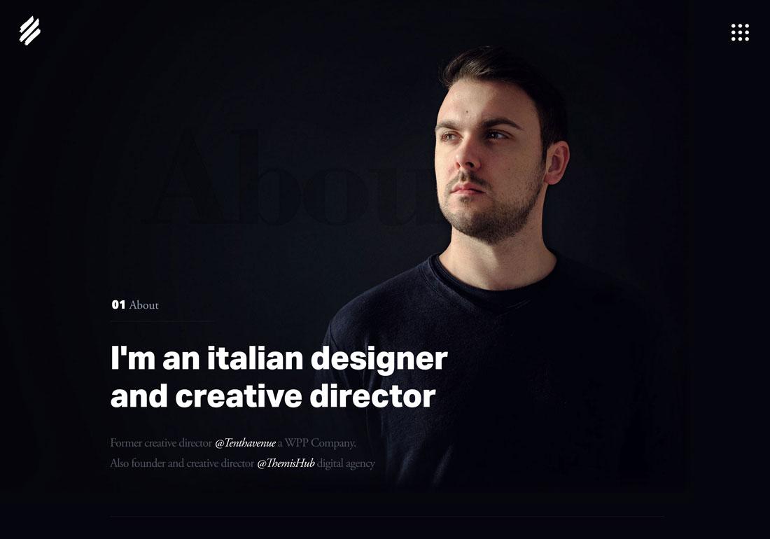 Marco Coppeto Website