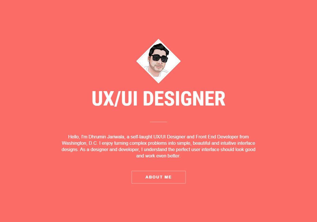 UI/UX Front end Designer Portfolio