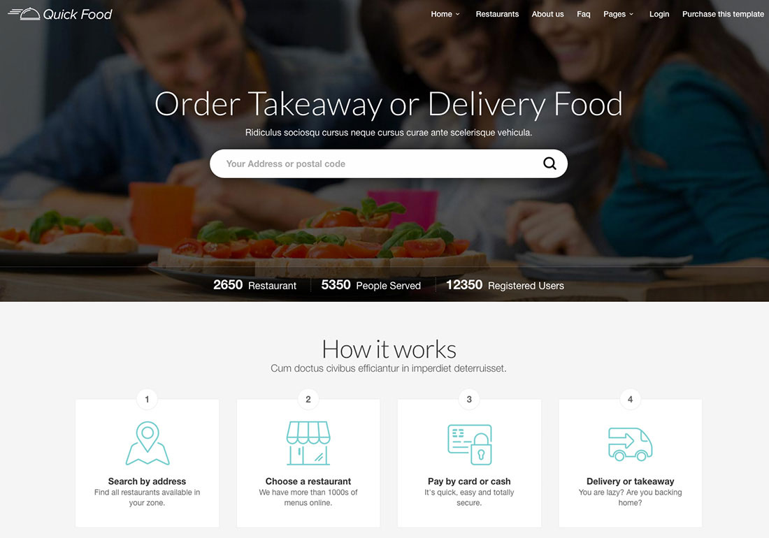 QuickFood - Delivery and Takeaway