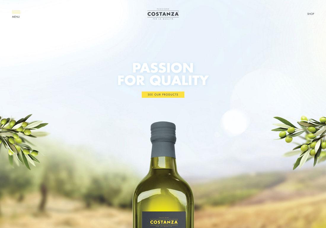Costanza Italian olive oils