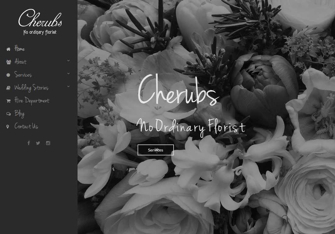 Cherubs Floral Design