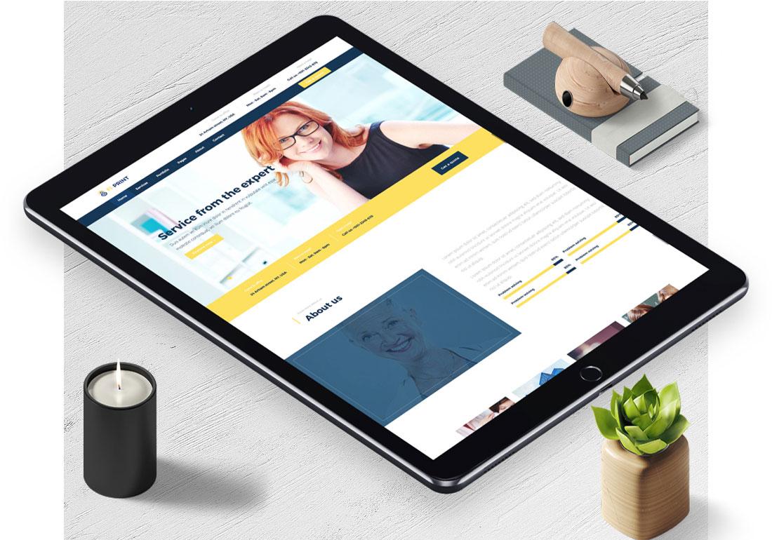 Fi-Print Multipurpose WordPress Theme