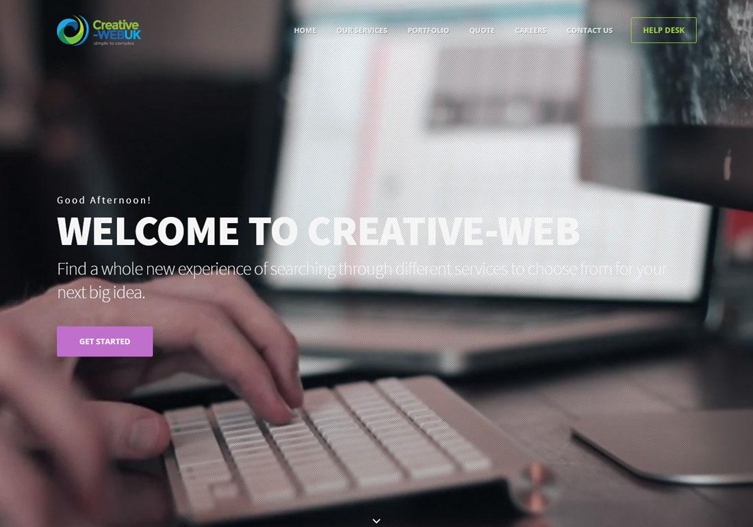 Creative-web - web design london