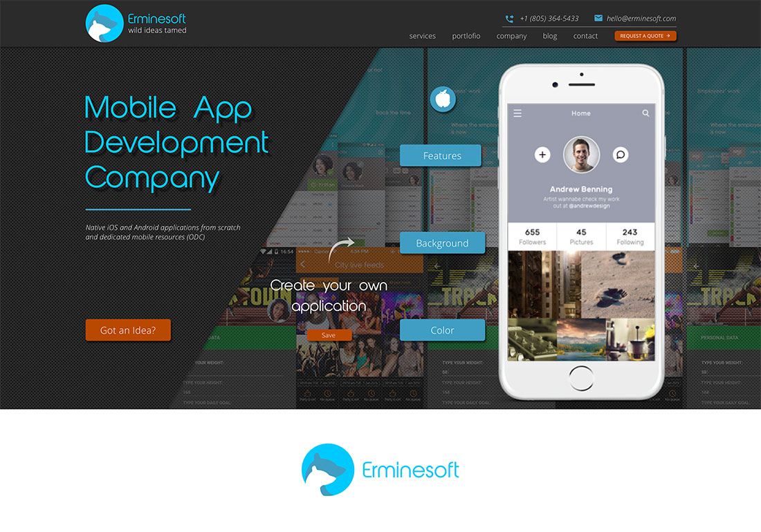 Erminesoft - Mobile App Development