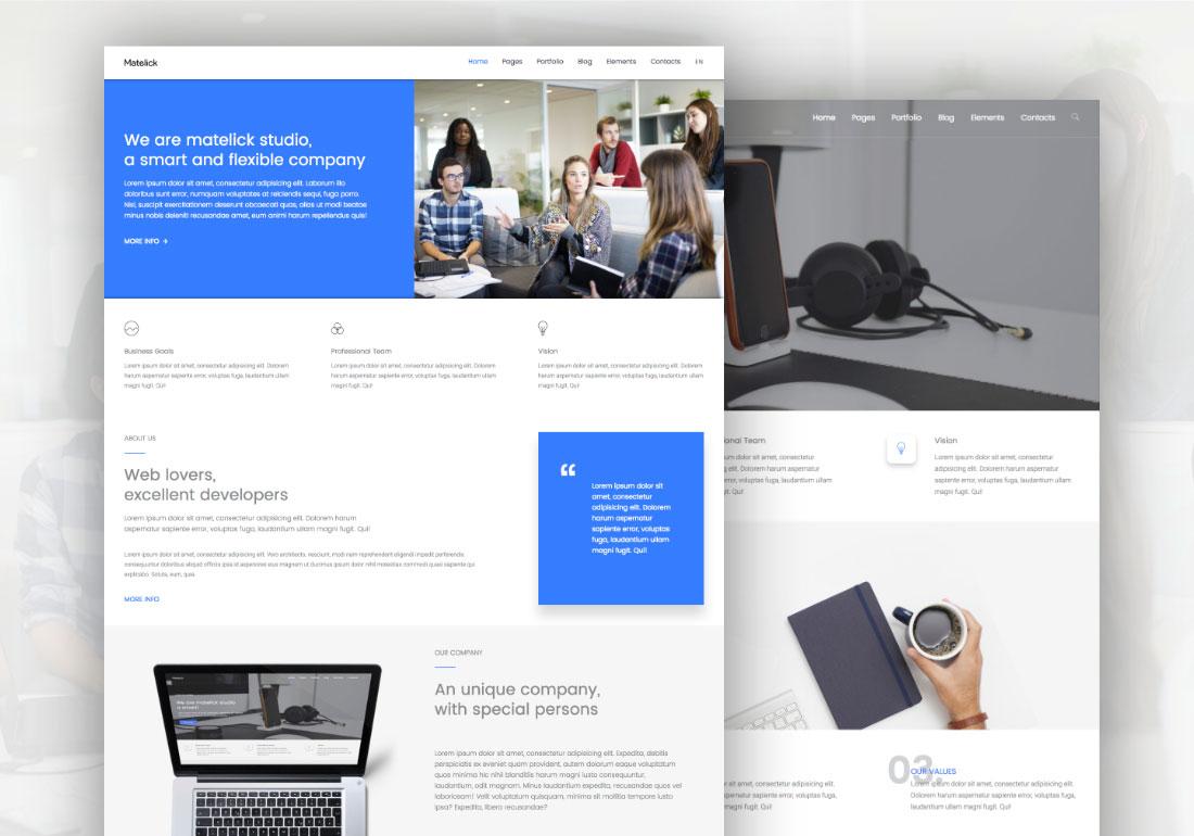 Matelick - Soft Material Corporate