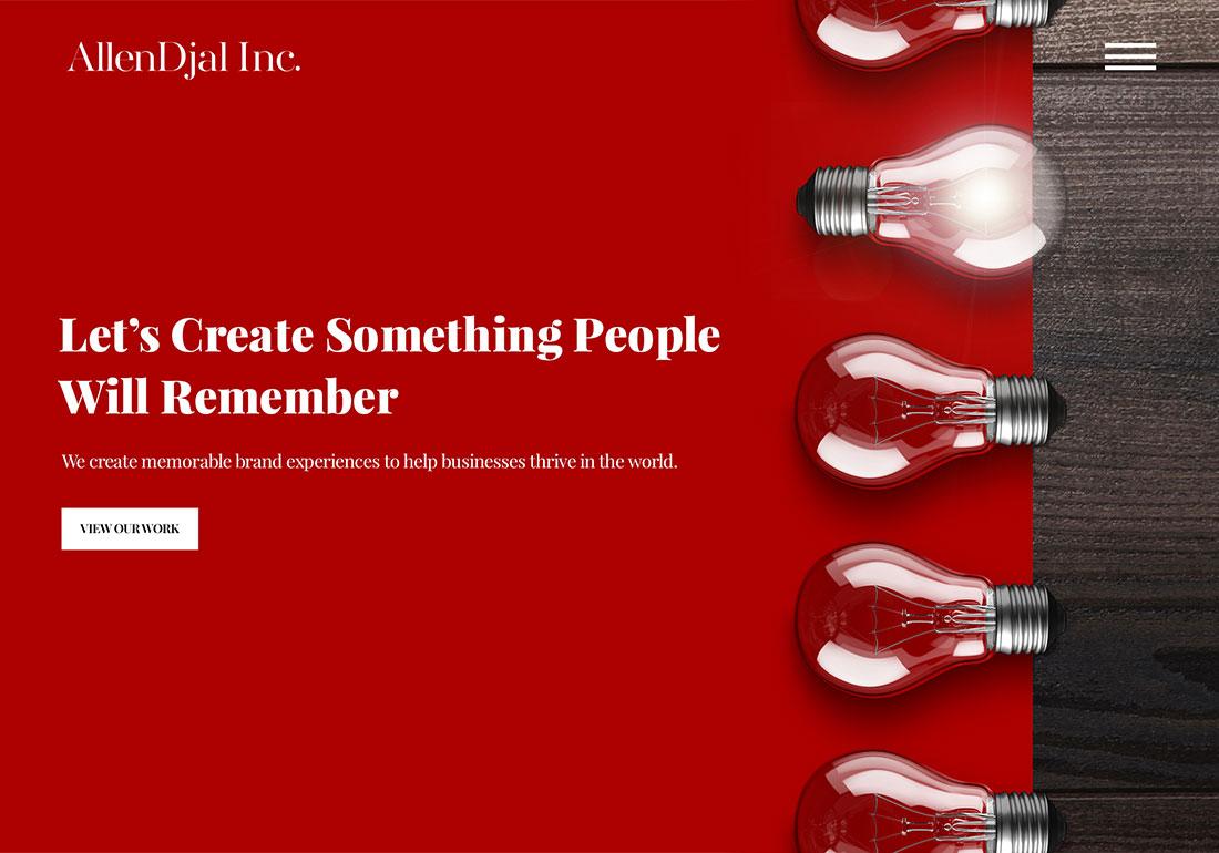 AllenDjal Inc. – Creative Marketing