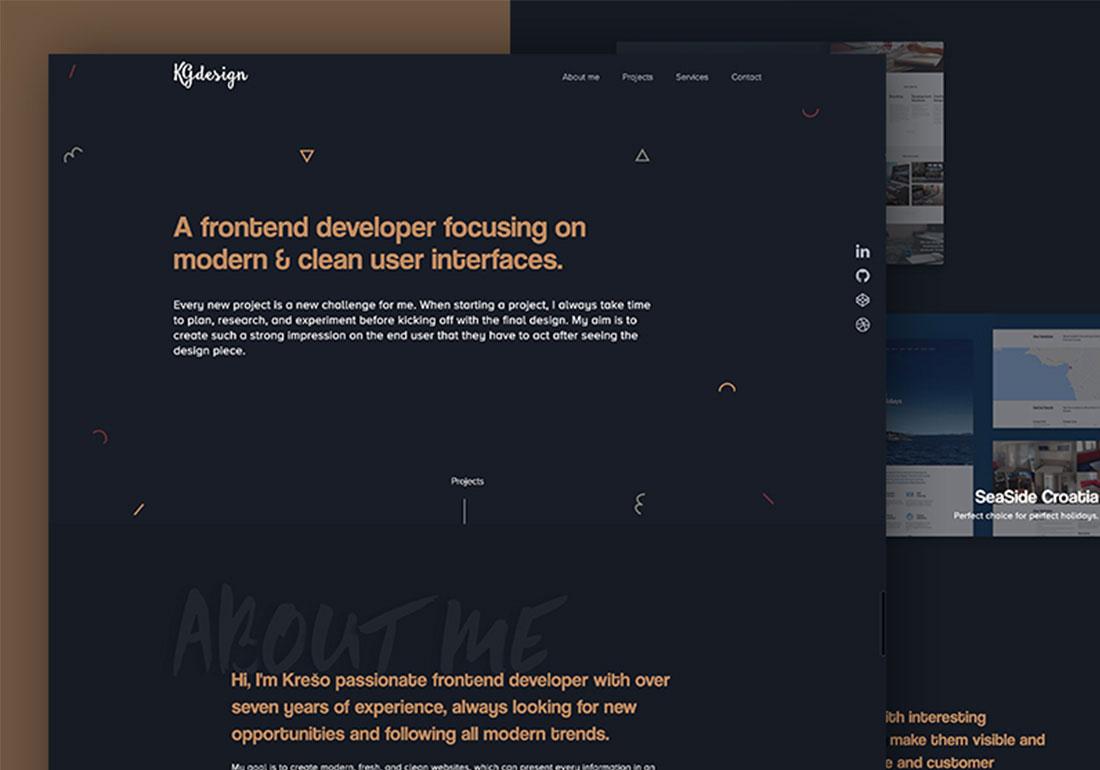 KGdesign - Personal portfolio