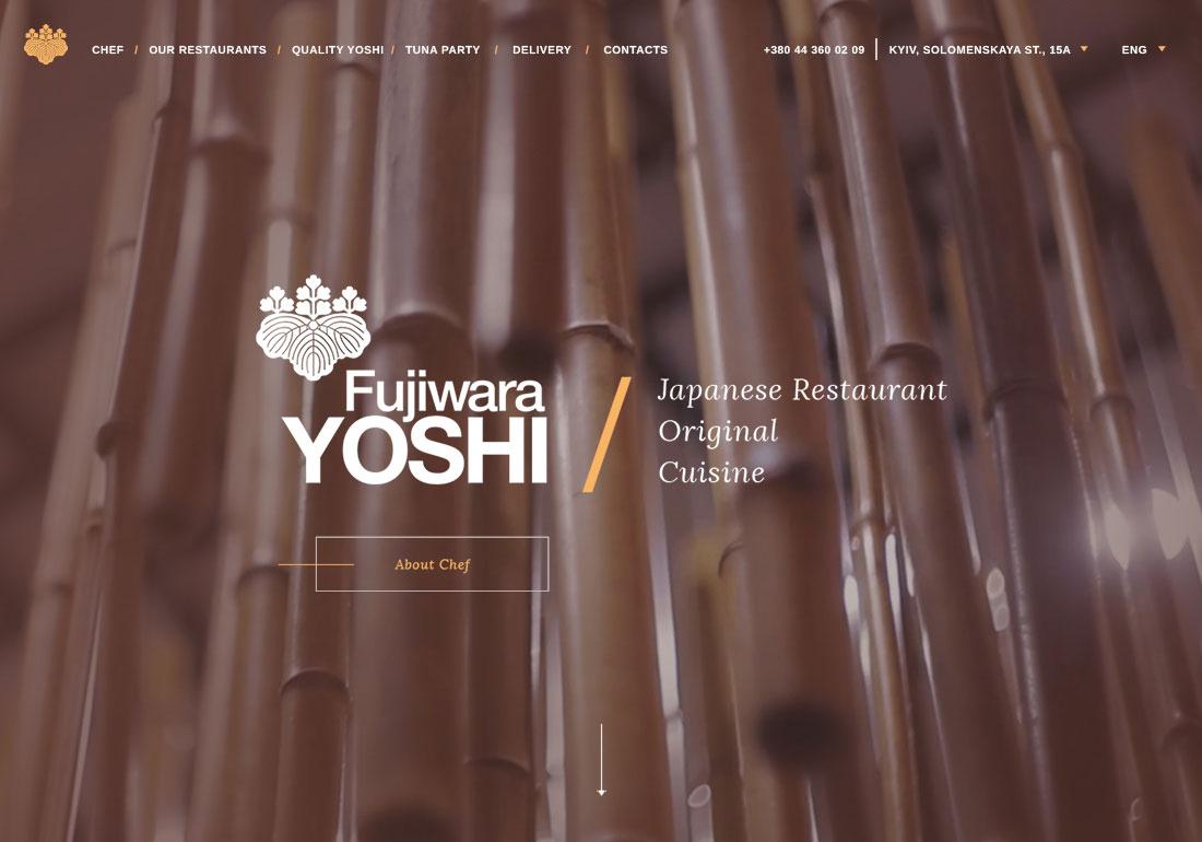 Yoshi Fujiwara Restaurant