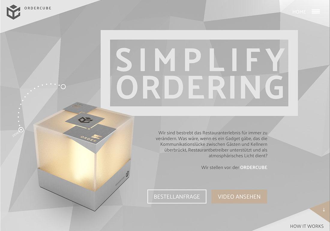 Ordercube - Simplify Ordering