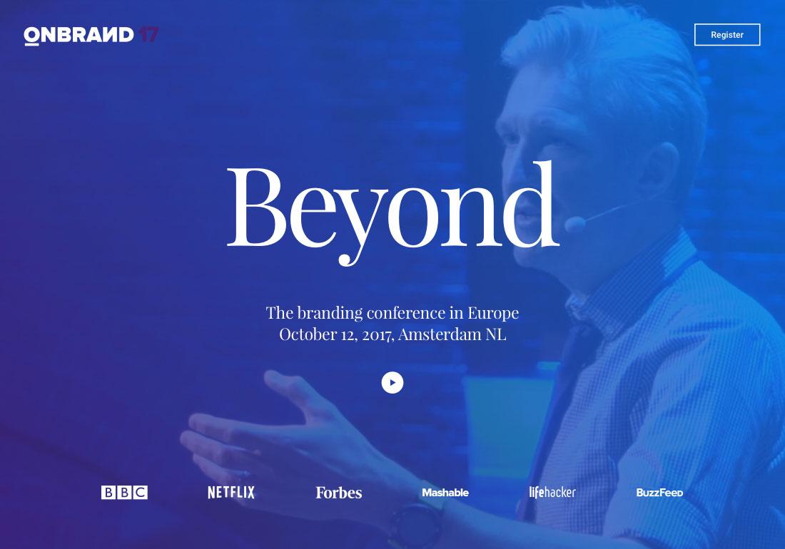 OnBrand '17 : Beyond