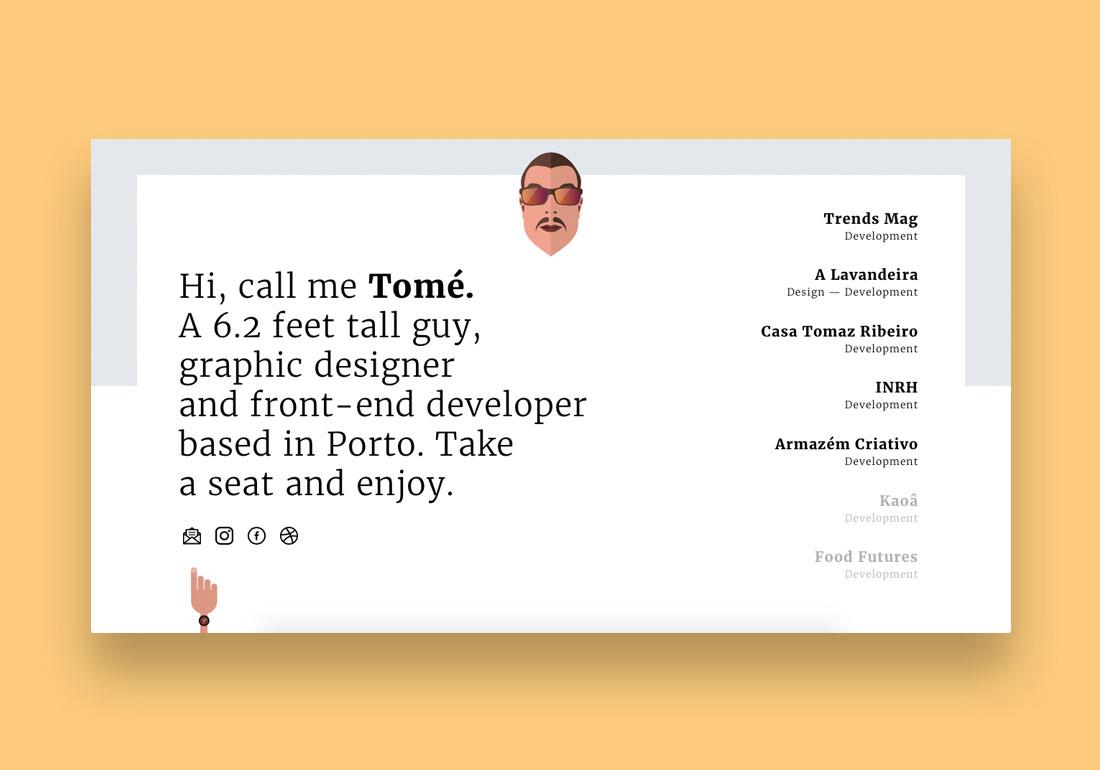 Bruno Tomé —Front-End Developer