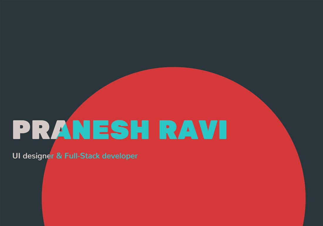 Pranesh Ravi