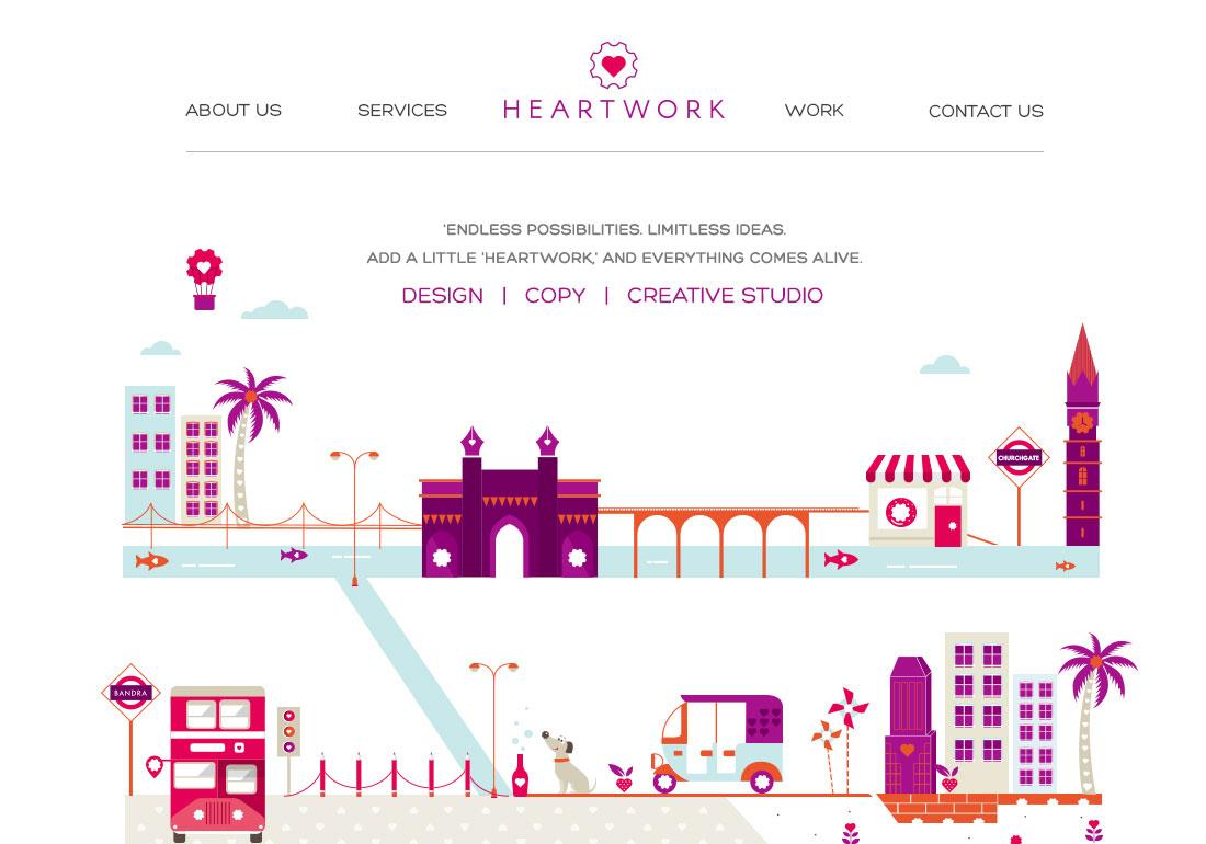 Heartwork - Design & Content Agency