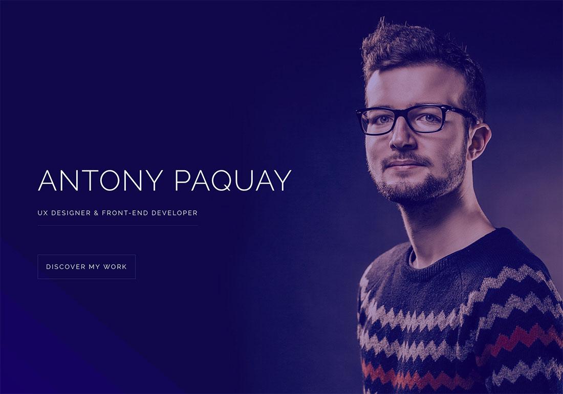 Antony - UX Designer