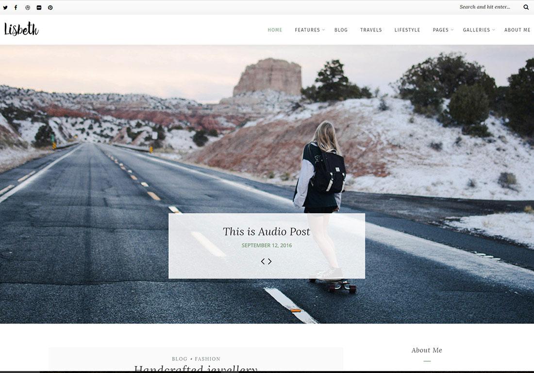 Lisbeth - A Lifestyle WP Blog