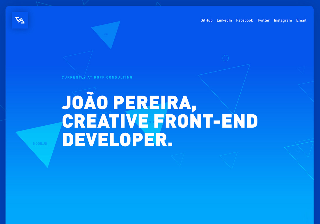João Pereira Front-end Developer