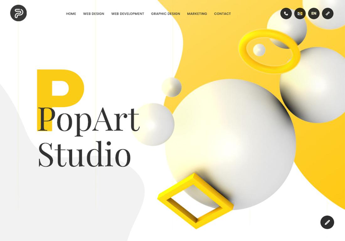 PopArt Studio - Web design agency