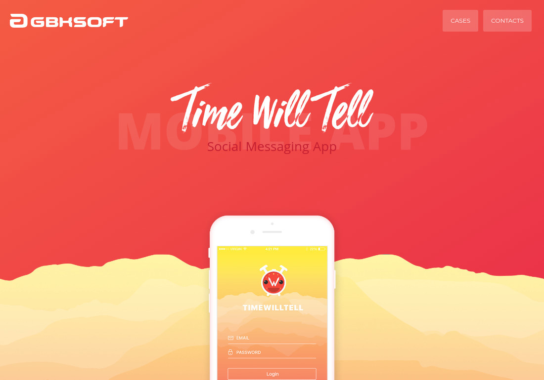 Time Will Tell Case Study: iOS App