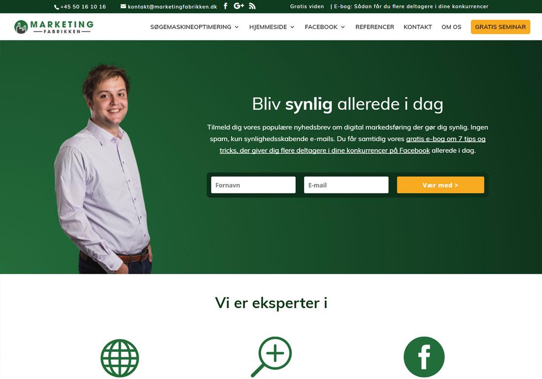 Marketingfabrikken - Webbureau Oden