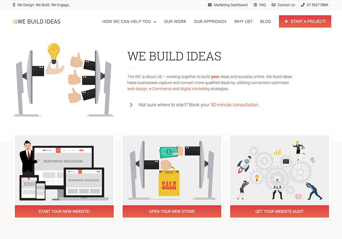 We Build Ideas