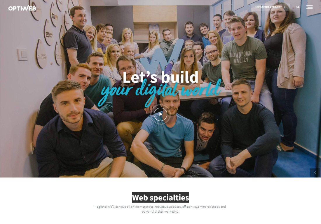 Optiweb - Web specialties